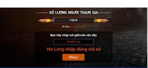 Làm sao để nhận code truy kích lậu Miên Phí: