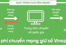 Thông tin chính thức về cước phí chuyển mạng giữ số sang Vinaphone