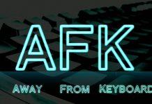 Afk là gì ? Tại sao AFK hay được game thủ sử dụng nhiều nhất