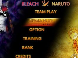 Game Bleach vs Naruto 3.3